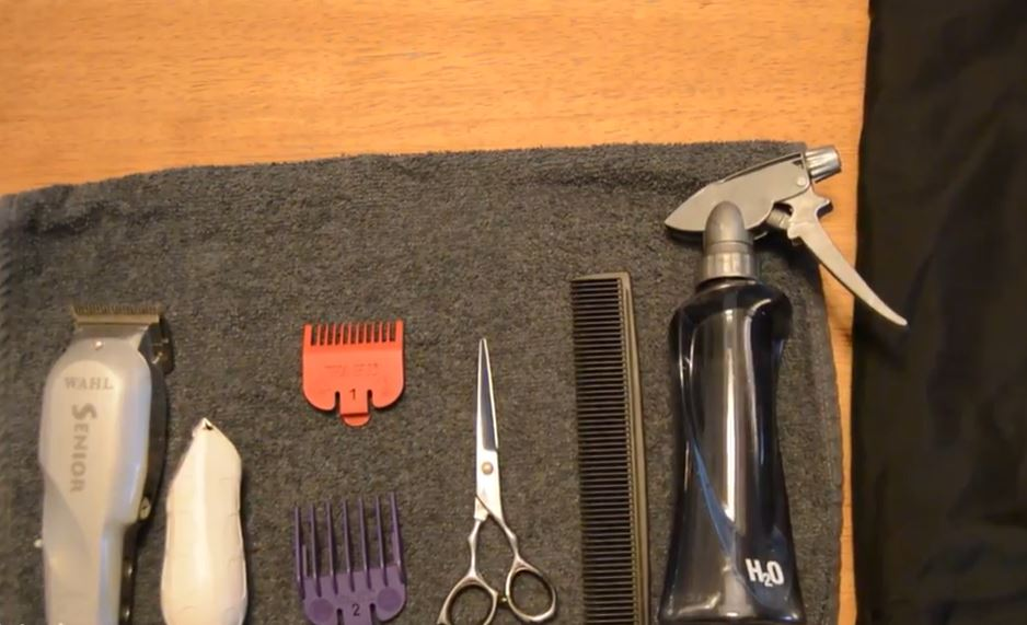 different hair cutting tools