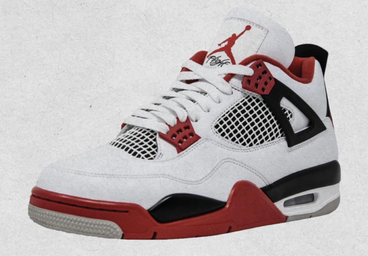 Air Jordan 4 Retro 'Tech Red,' Style Code: DC7770-160