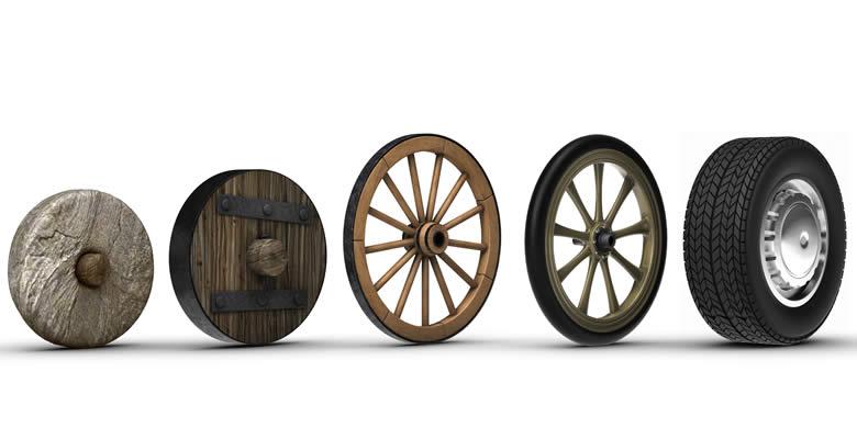 Conoce las últimas innovaciones en neumáticos y la historia de la rueda