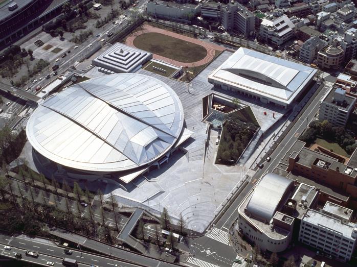 Cung thể dục thể thao Trung tâm ở Tokyo (1990)