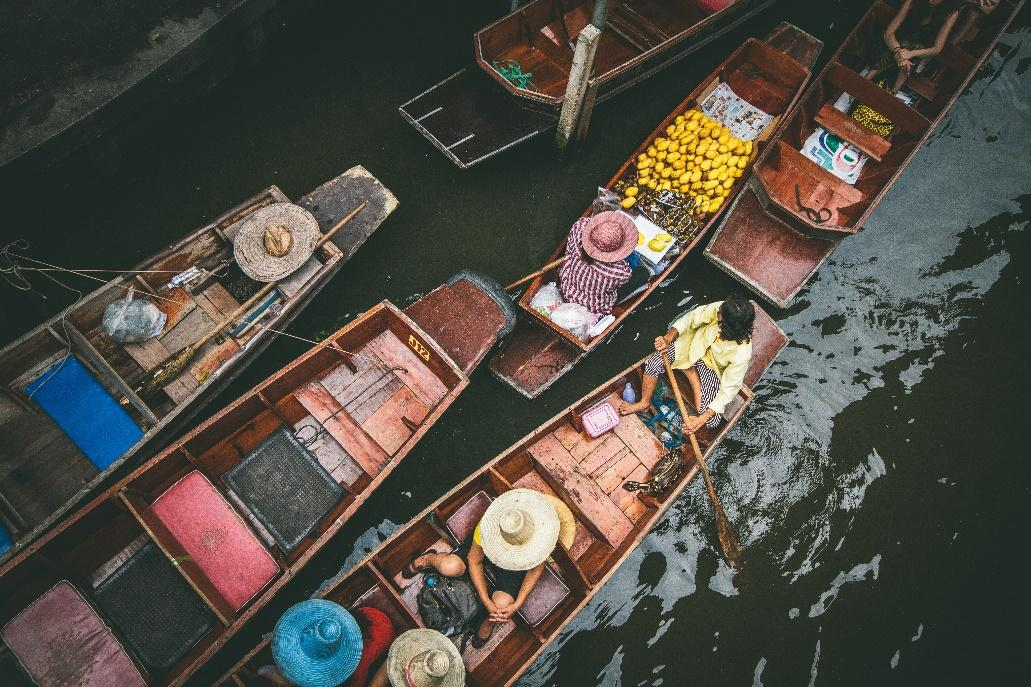 Canals and Floating Market