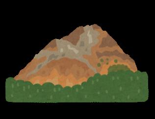昭和新山のイラスト