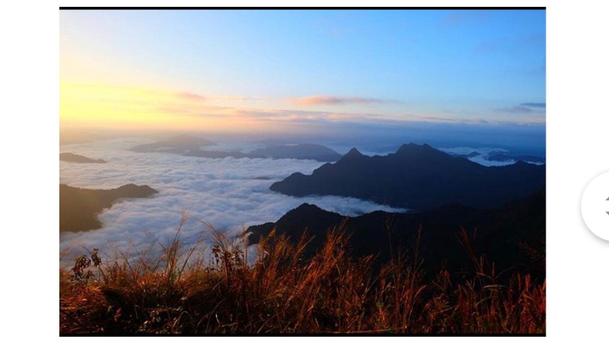 Biển mây ở Chiang Mai