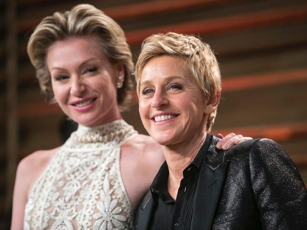 Portia de Rossi shares Instagram message in support of Ellen DeGeneres -  Insider
