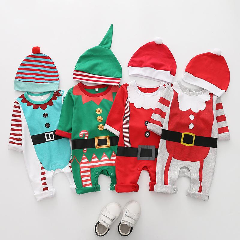 Piękne ubranka świąteczne dla niemowląt na święta Bożego Narodzenia - Odzież dla noworodka sklep int