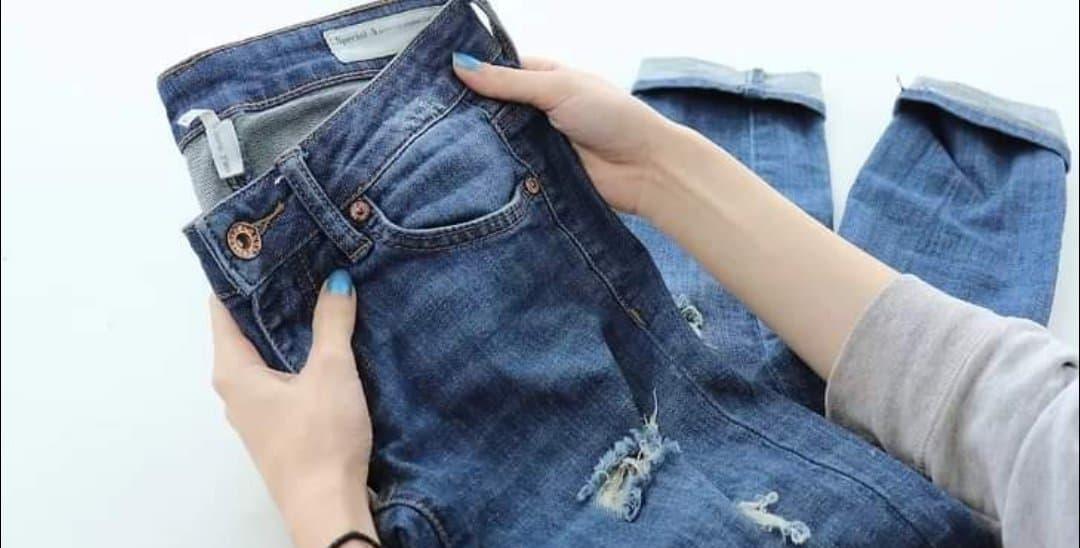 how to cut denim shorts