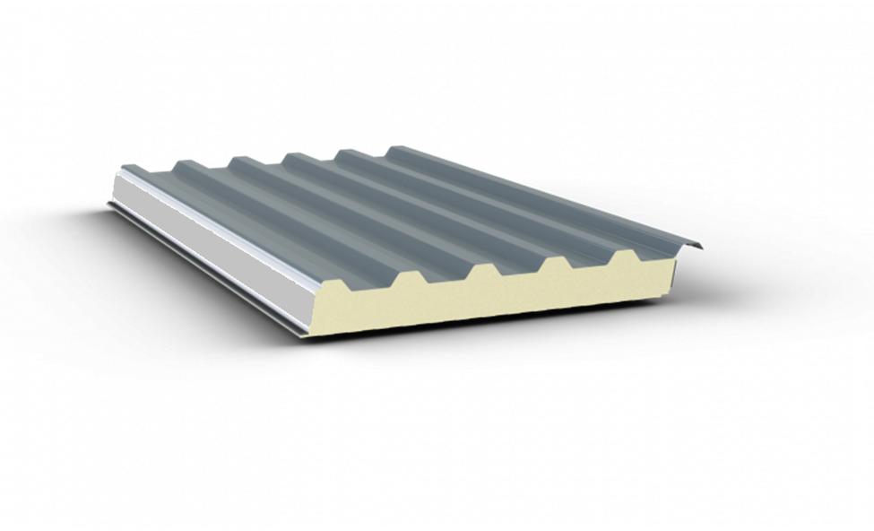 Tôn cách nhiệt với lớp lõi PU có khả năng chống nóng vượt trội