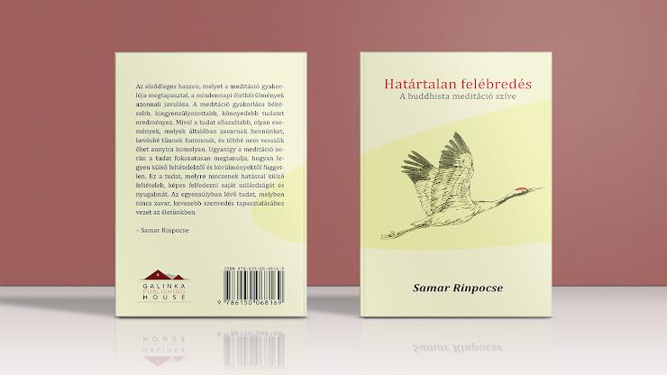 Samar Rinpocse könyvének borítói