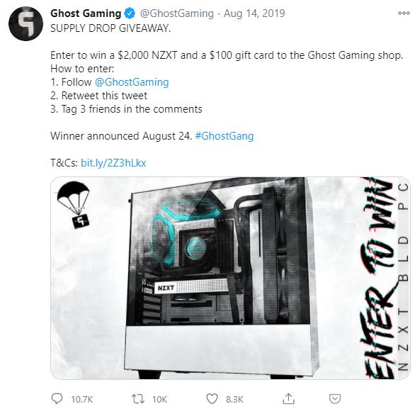 best christmas tweet ideas 1 ghost gaming
