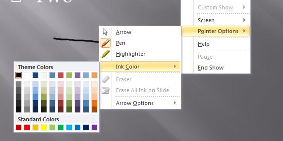 Change Pen Color