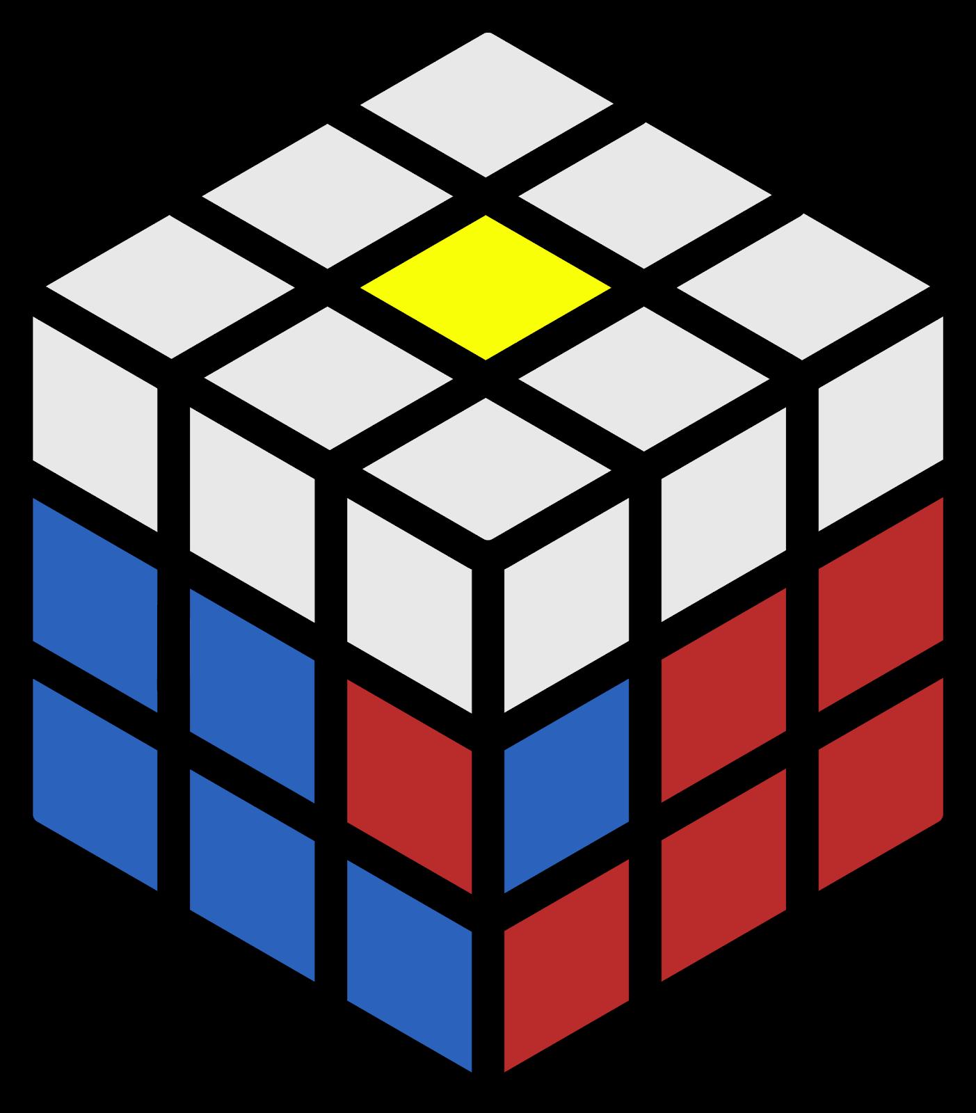 rumus middle layer rubik 3x3 3