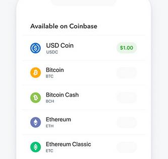 USD-Coin bei Conbase handelbar (Stablecoin)