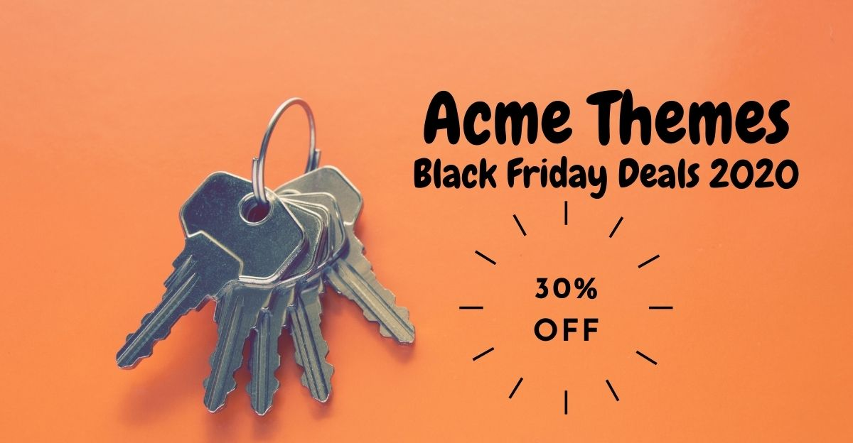 Acme Themes: Up To 30% Off