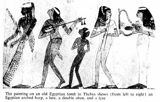 Sejarah Musik Klasik Mesir Kuno