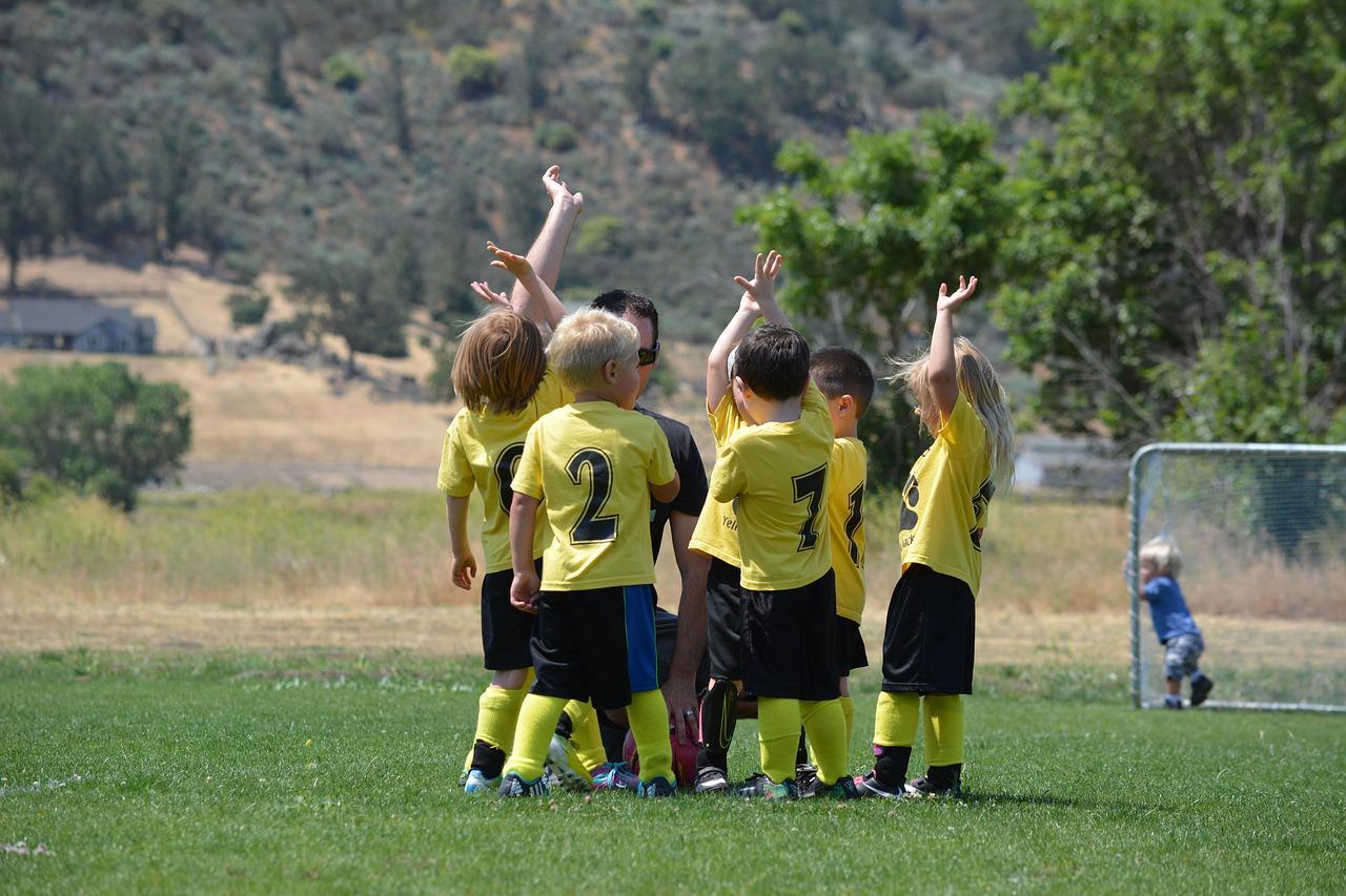Kids Soccer lesson