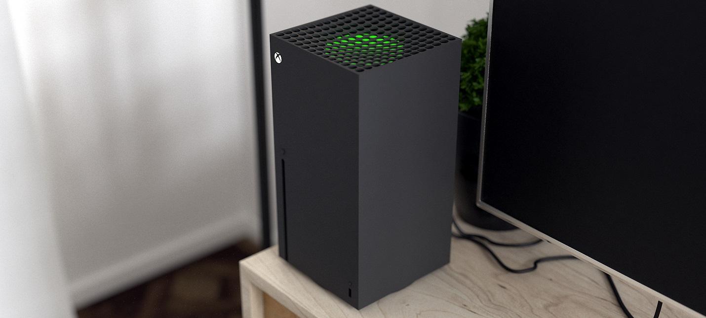 Xbox Series X - простота и изящность