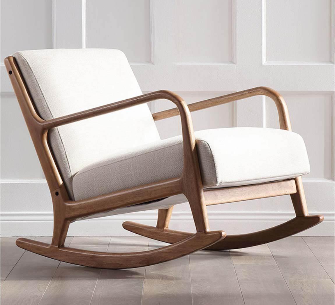 ghế bập bênh cho bé bằng gỗ