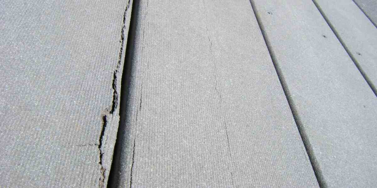 fix crack in decking