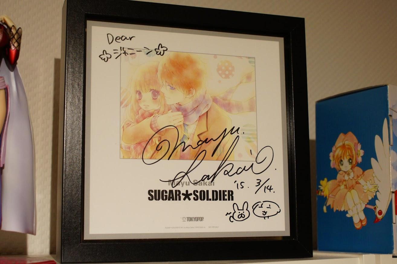 Sugar Soldier Mayu Sakai Shikishi Tokyopop