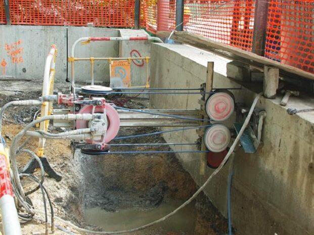 Ứng dụng công nghệ cao vào khoan cắt bê tông tại Huyện Nhà Bè