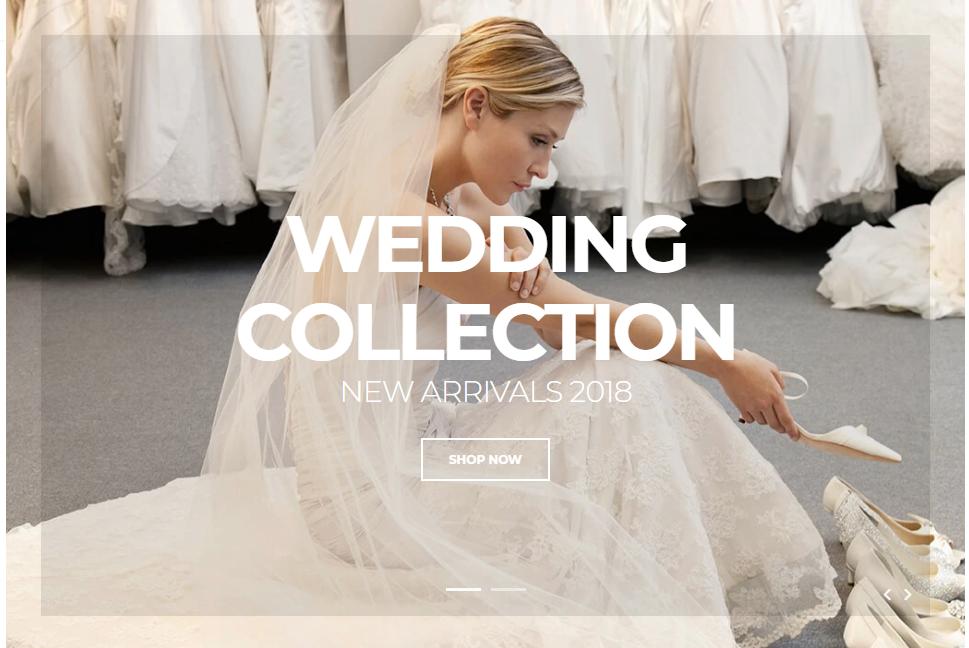 Shopify wedding theme