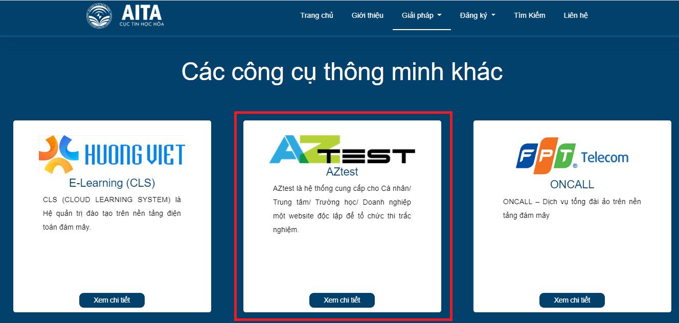AZtest.vn đồng hành cùng AITA hỗ trợ các cơ quan nhà nước đẩy lùi COVID-19