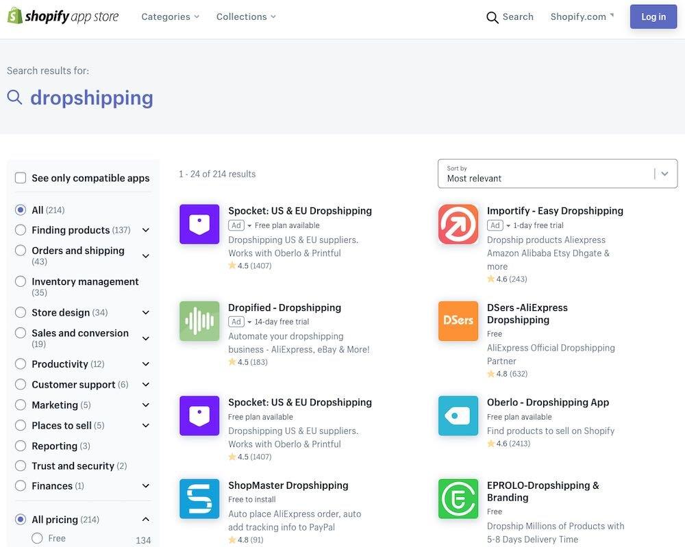 Огромное количество приложений прямой поставки доступно в магазине приложений Shopify, но было бы неплохо увидеть этическую информацию о продуктах, которые они предлагают.