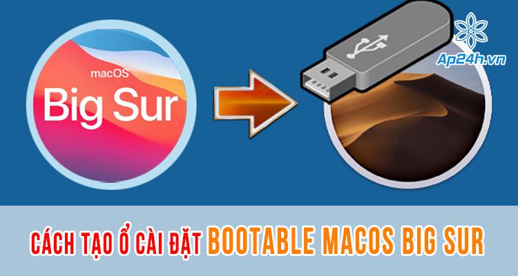 tạo ổ cài đặt bootable macOS Big Sur