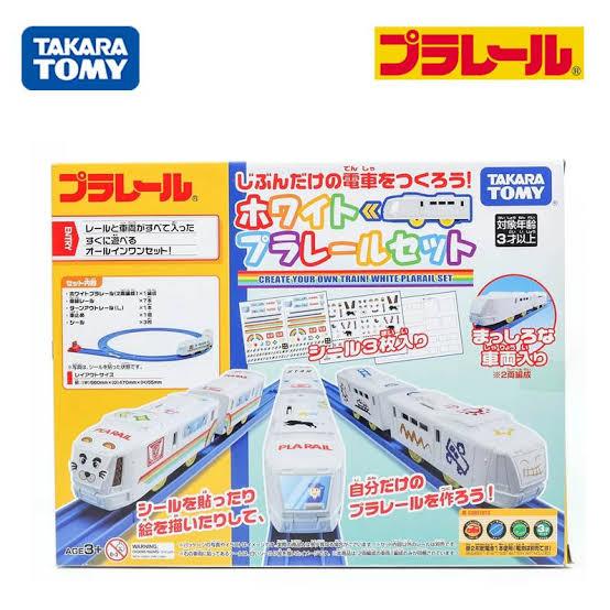 1. TAKARA TOMY /  White Plarail