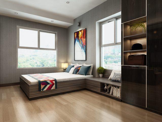 Căn hộ Xi Grand Court mẫu phòng ngủ