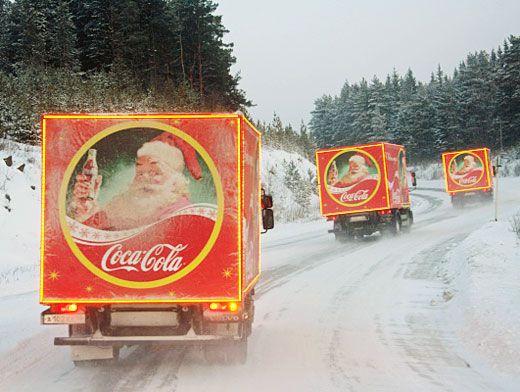 история рекламы кока-колы