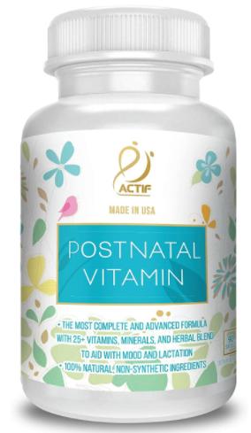 Actif Organic Postnatal 25+ vitamins