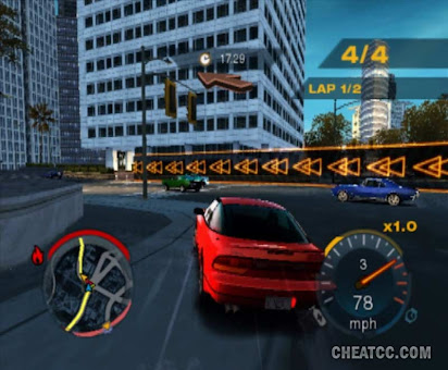 Undercover need for speed cheats ps2