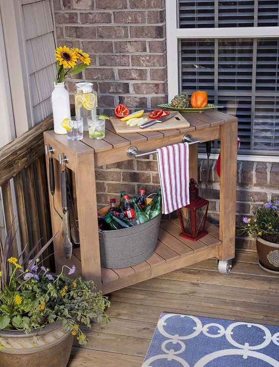 portable-serving-prep-cart
