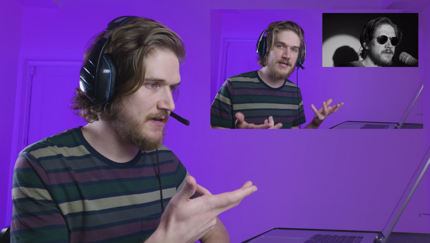 Playing the role of a commentary YouTuber, Bo Burnham is caught in an endless cycle of reacting to himself perform.