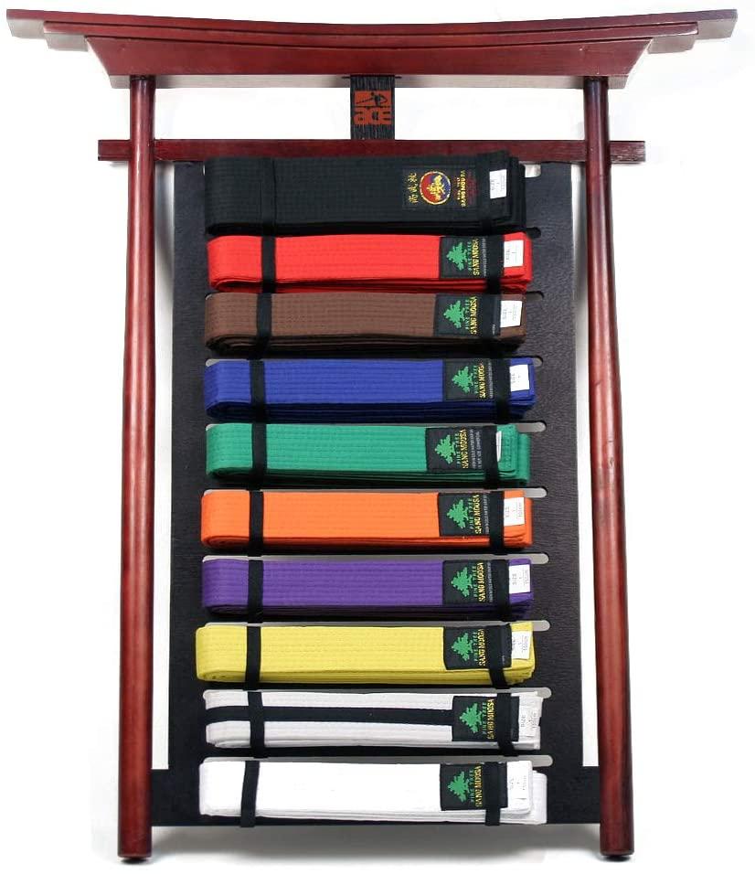 Ace Martial Arts Supply Belt Display