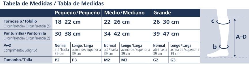 9bb117caf Compre Meia 3 4 Sigvaris Ever Sheer 20-30mmHg com Menor Preço Online ...