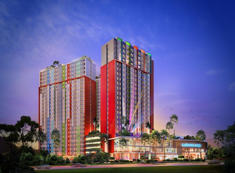 Gardenia Apartment Bogor view