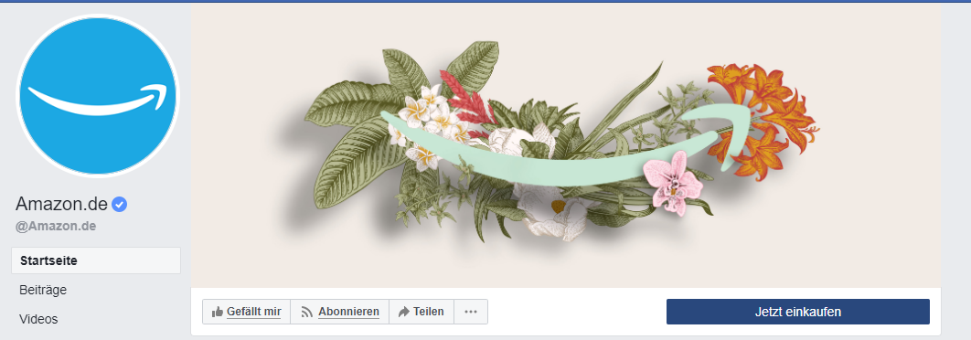 Facebook Handlungsbutton