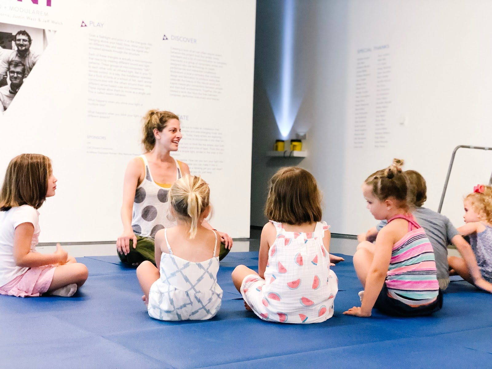 Yoga at the UnMuseum