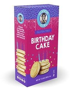 Image of box of Birthday Cake cookies