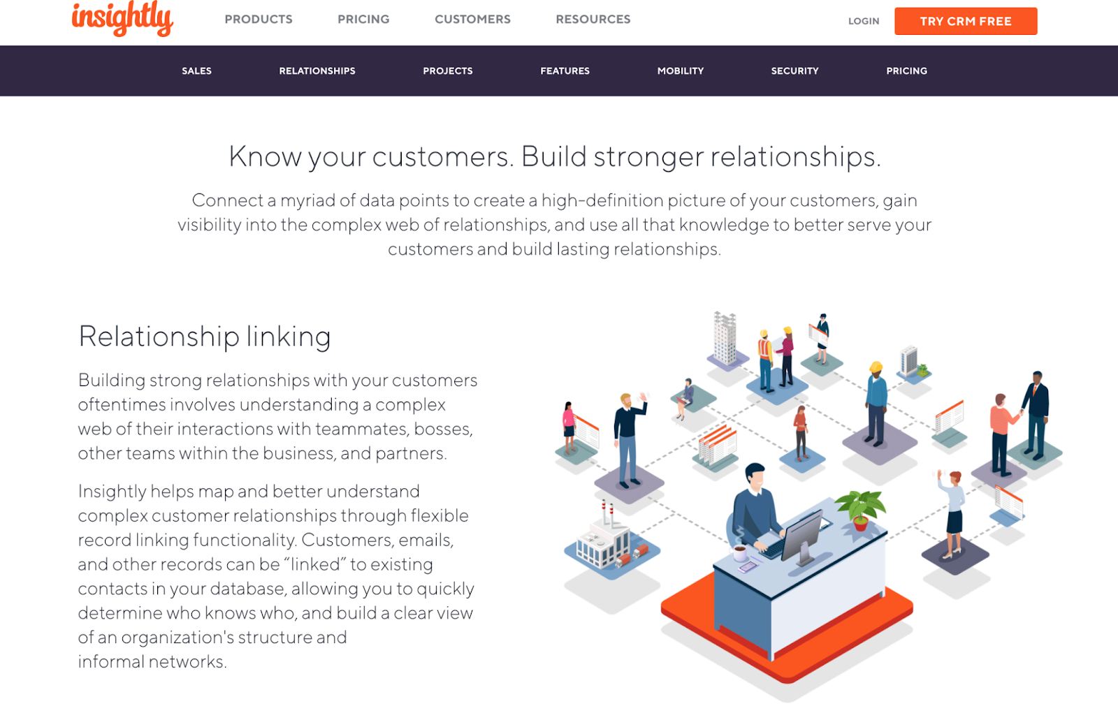 client relationship management software insightly crm