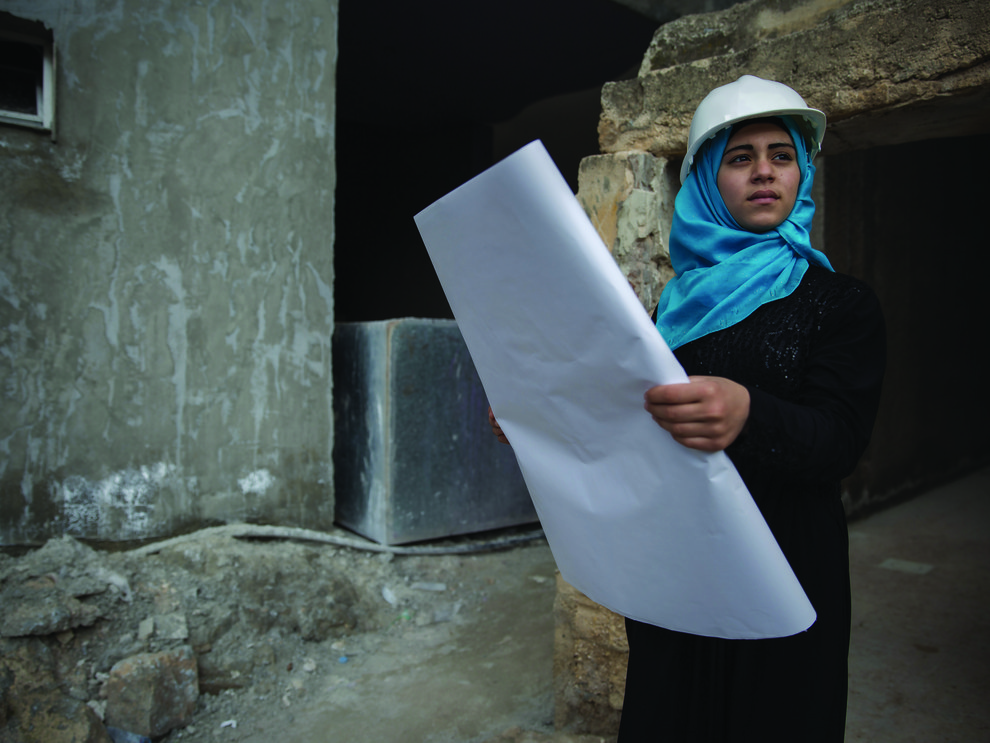 Fatima, 16, future architect