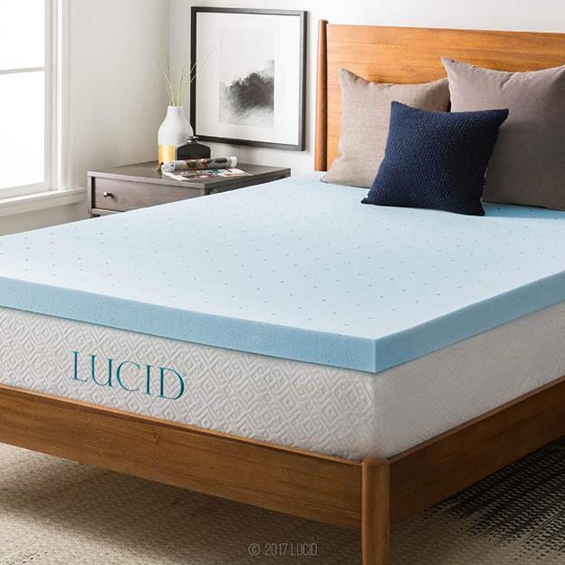 When comparing gel vs. memory foam mattress toppers, gel mattress toppers sleep cooler than memory foam.