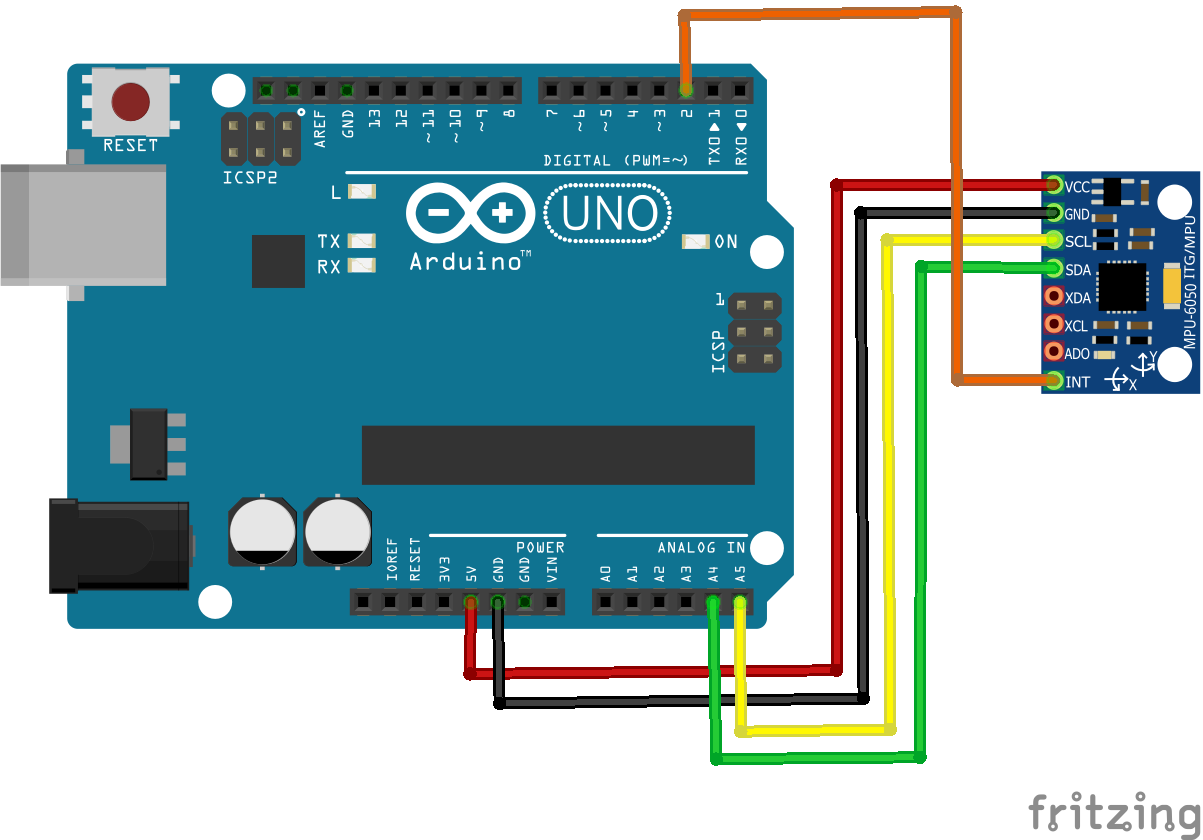 Get Orientation with Arduino and MPU6050 | Microcontroller