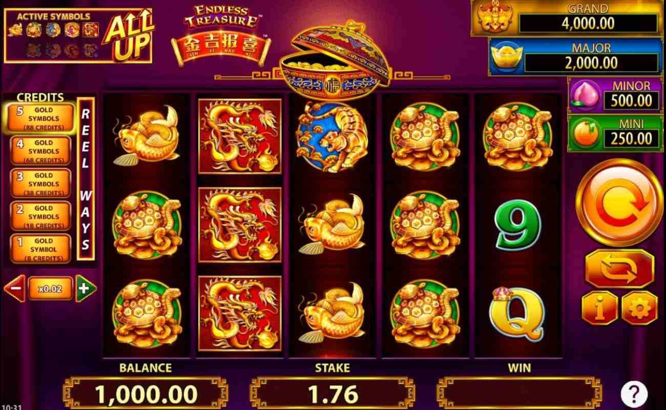 Jin Ji Bao Xi: Endless Treasure by NYX online slot casino game