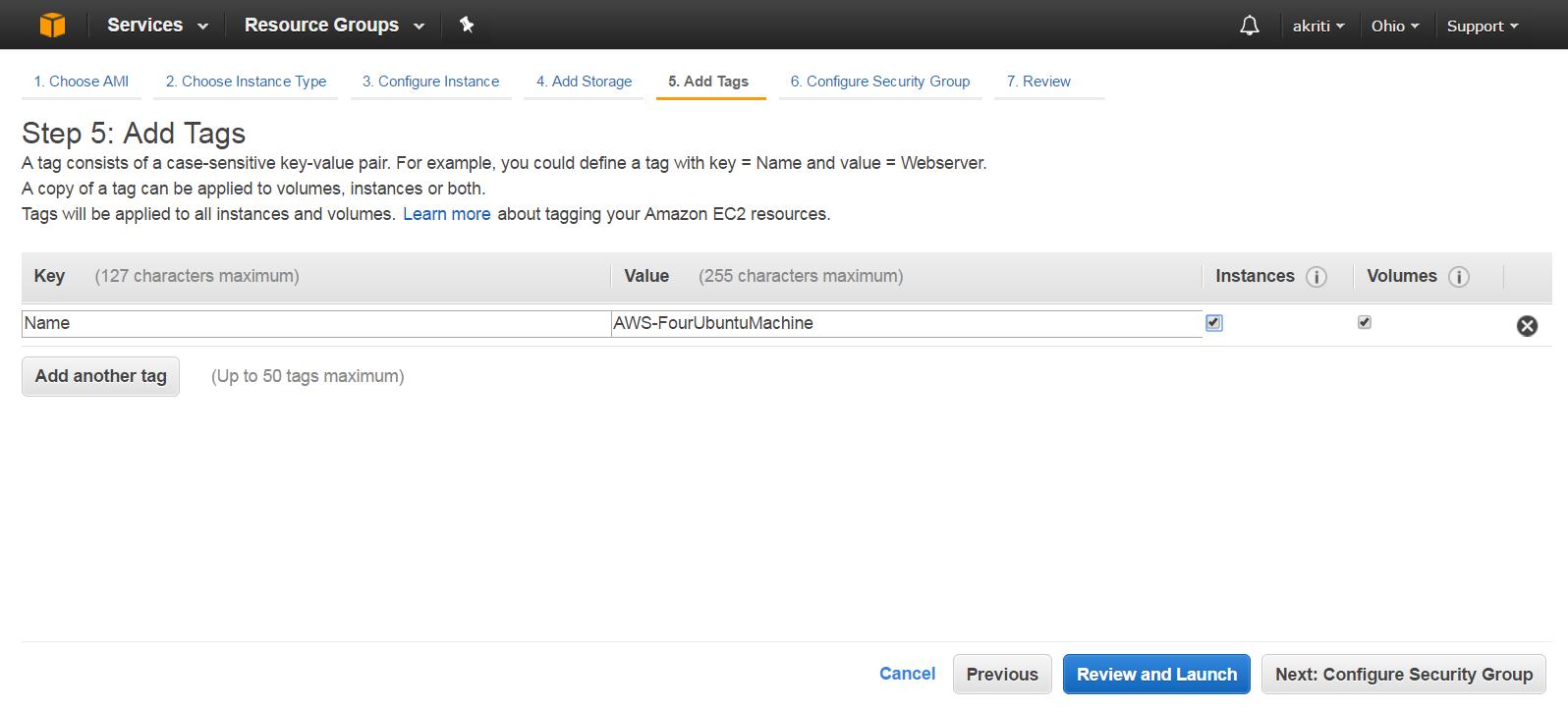 Create Virtual Machine on Amazon Web Services ( AWS ) 36