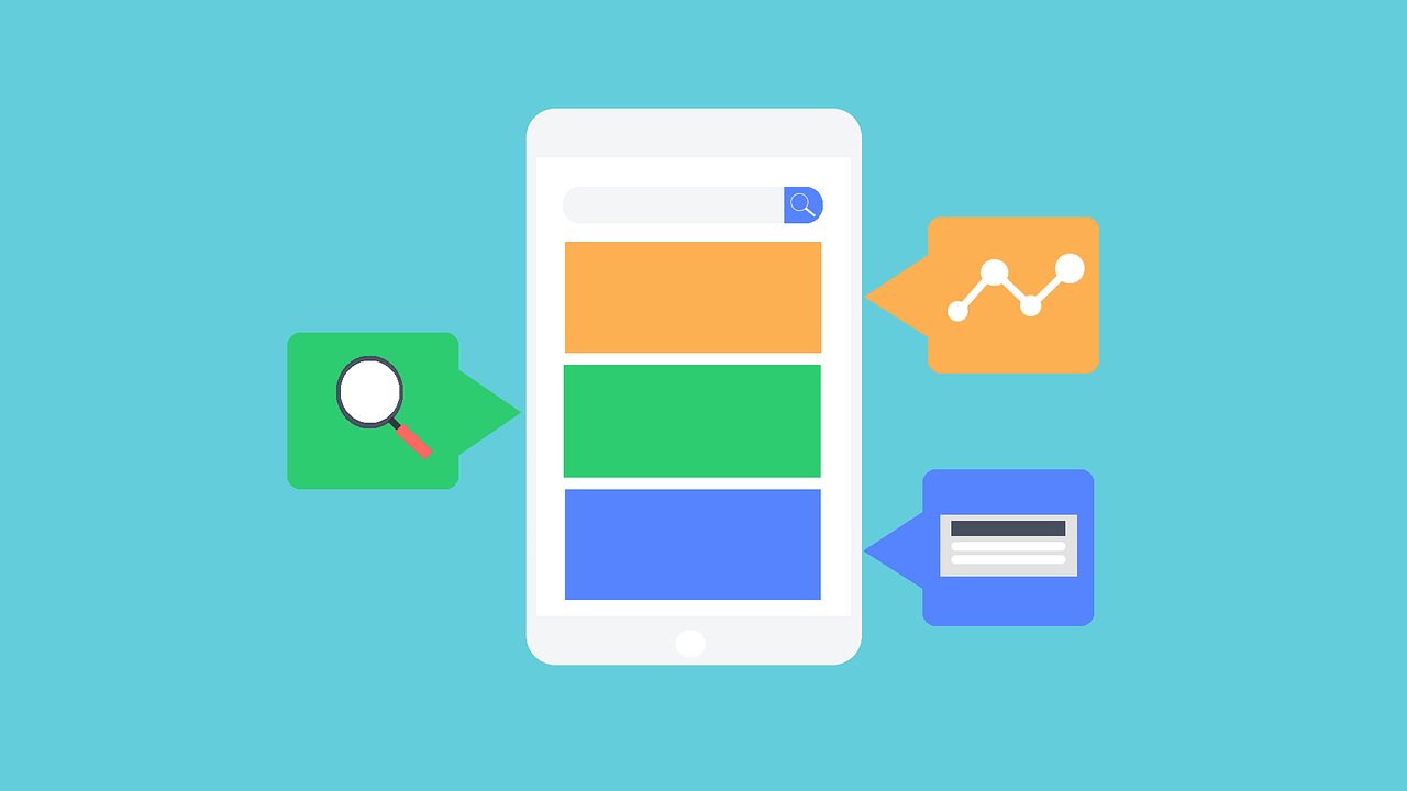 Buscas do Google - Smartphone desempenhando muitas funções