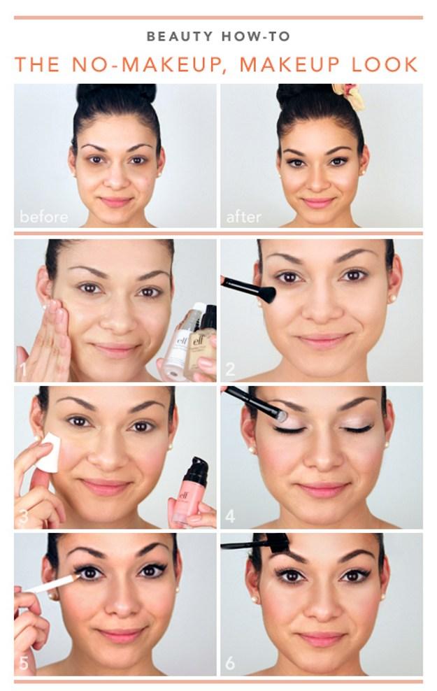 Simple Graduation Look for Dark Hair | Graduation Makeup Tutorials by http://www.makeuptutorials.com/makeup-tutorials-graduation-beauty-ideas