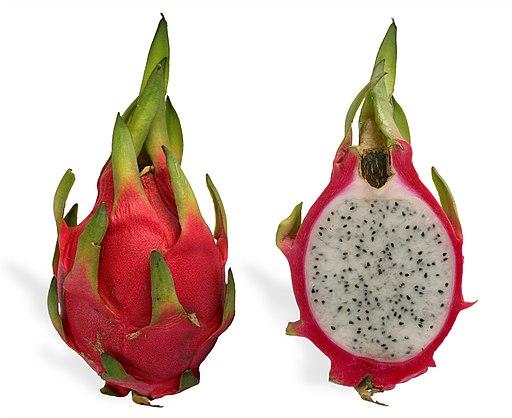 Hylocereus undatus pitahaya o fruta del dragon